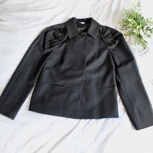 Viktor & Rolf black 100% virgin wool blazer